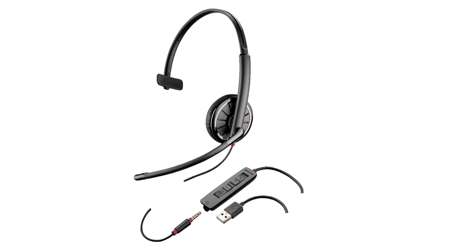 Plantronics Blackwire C315 Corded USB headset with 3.5mm connection