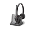 Plantronics Savi 8220 Wireless DECT Headset Optimized for Microsoft Lync (207326-01)