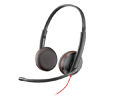 Plantronics Blackwire C3225 USB-A On Ear Headset