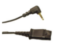 Plantronics 2.5mm Quick Disconnect Adapter Cable for SpectraLink Headsets (64279-02)