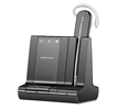 Plantronics Savi W740 - Convertible (Standard) Wireless Headset with APP-51 Electronic Hookswitch Adapter (EHS) (83542-01-BL)
