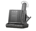 Plantronics Savi W745-M - Wireless Headset System Optimized for Microsoft Lync (86507-21)