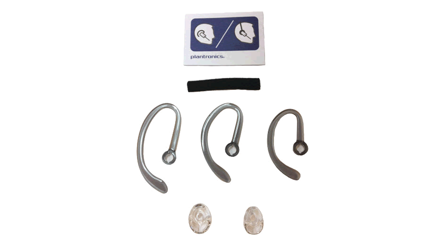 Plantronics Fit Kit for the CS540 Headset - 3 Sizes of Earloops, 2 Sizes of Ear Tips, and 1 Foam Sleeve
