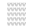Plantronics Eartip – 25 Pack (Small) (88940-01)