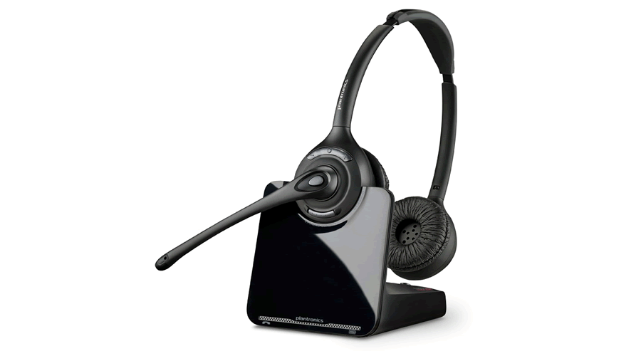 Plantronics CS520-XD Over-the-Head (Binaural) Wireless Headset