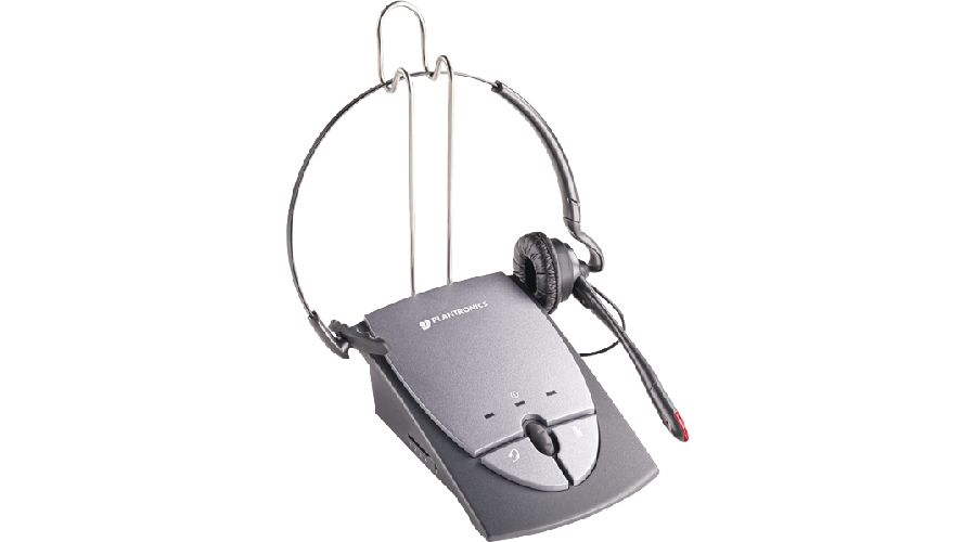 Plantronics S12 2-In-1 with Firefly in-use Indicator