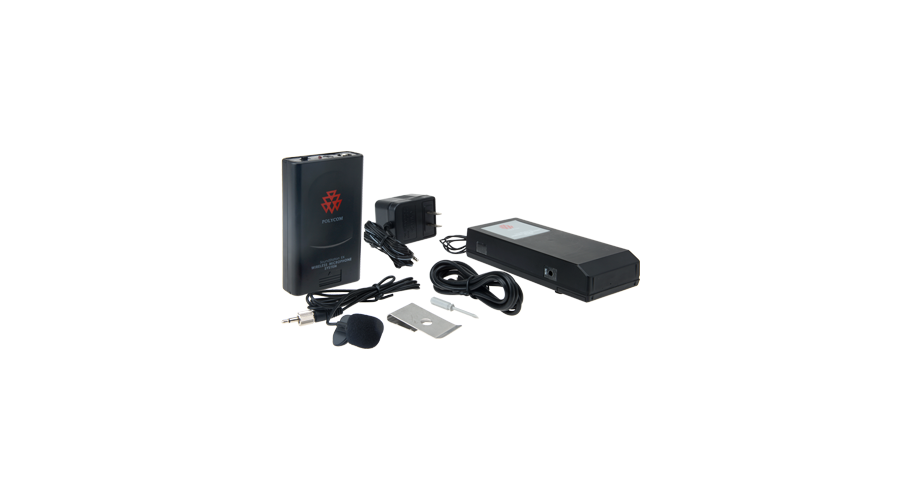 Polycom Wireless Lapel Microphone with Frequency F = 203.400MHz