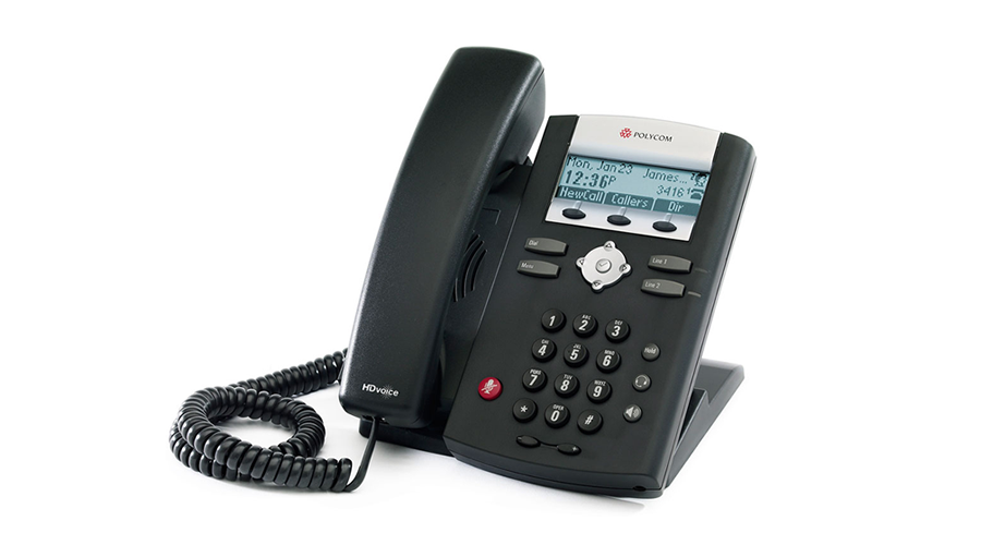 Polycom SoundPoint IP 335 HD Phone 2-Line High Quality Phone - Includes Power Supply
