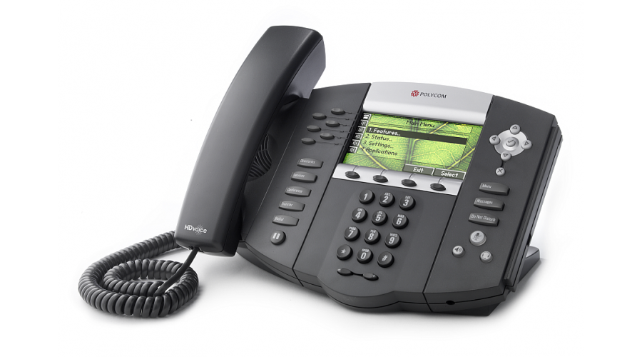 Polycom SoundPoint IP 670 6-Line application-enabled Desktop IP Phone - Does not Include Power Supply