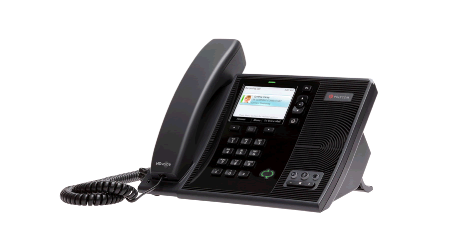 Polycom CX600 IP Phone for Microsoft Skype for Business