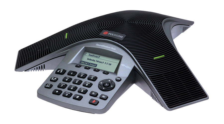 Polycom SoundStation Duo - Dual-mode Conference Phone - Includes Power Supply - Open Box