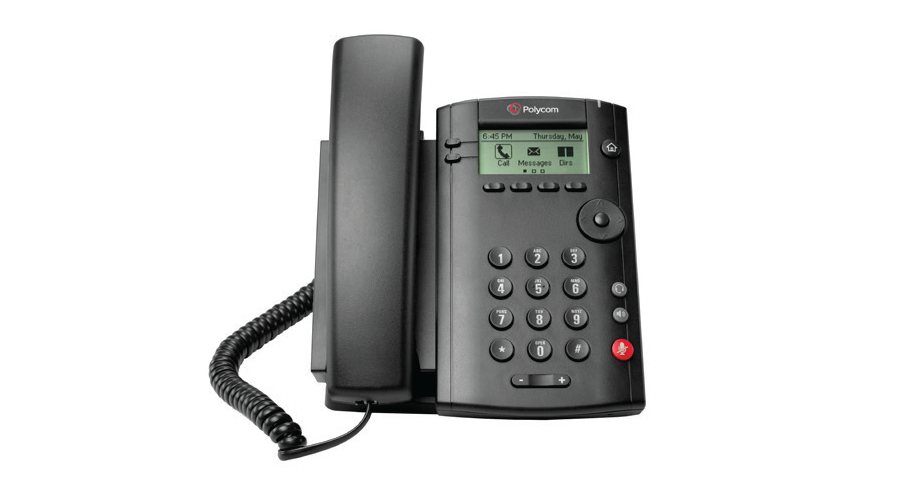 Polycom VVX 101 Business Media Phone (PoE) - Without Power Supply