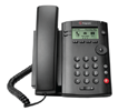Polycom VVX 101 Business Media Phone and VQMon (PoE)  - with Power Supply (2200-40250-001-VQMON)
