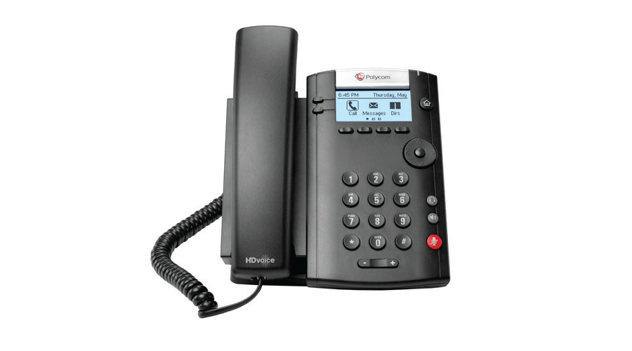Polycom VVX 201 Business Media Phone (PoE) Skype for Business Edition