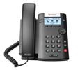 Polycom VVX 201 Business Media Phone and VQMon (PoE) - with Power Supply (2200-40450-001-VQMON)