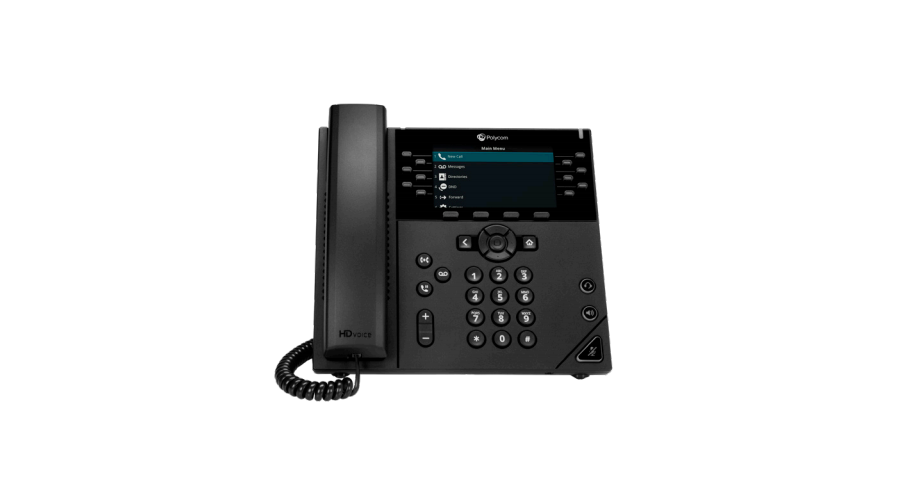 Polycom VVX 450 OBi Edition Desktop Business IP Phone - Includes Power Supply