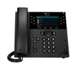 Polycom VVX 450 Desktop Business IP Phone Skype for Business Edition  - Without Power Supply