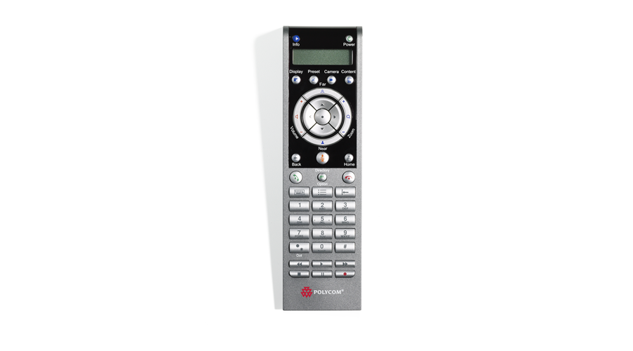Polycom HDX Remote Control for HDX Series codecs, English
