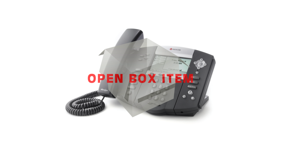 Polycom SoundPoint IP 550 with Power Supply - OPEN BOX