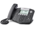 Polycom SoundPoint IP 650 6-Line HD Voice Phone - Includes Power Supply