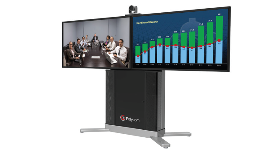 Polycom RP Group 500-720 Media Center 2RT43, EagleEye IV-12x camera,  2-43