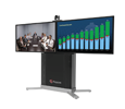 "Polycom RP Group 500-720 Media Center 2RT43, EagleEye IV-12x camera,  2-43"" 1080p LED displays (7200-61100-001)"