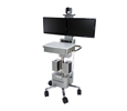 Polycom RealPresence Utility Cart 500 Includes: Group 500-720p Codec, MicArray, EE IV-12x Camera (7200-64860-001)
