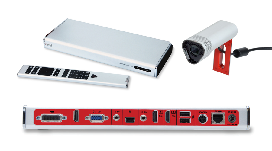 Polycom RealPresence Group 310-720p:Group 310 HD Codec, Acoustic Camera, Remote, NTSC/PAL