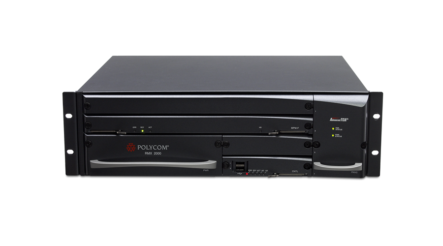 Polycom RMX 2000 IP Only 30HD1080p / 60HD720p / 120SD / 180CIF