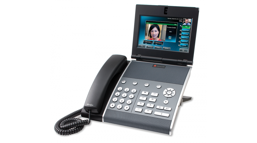 Polycom VVX 1500 D Dual Stack (SIP&H.323) Business Media Phone w- Video and HD Voice