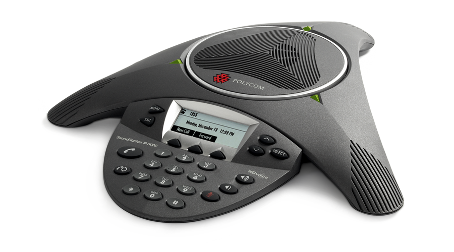Polycom SoundStation IP 6000 Conference Phone - Includes Power Supply