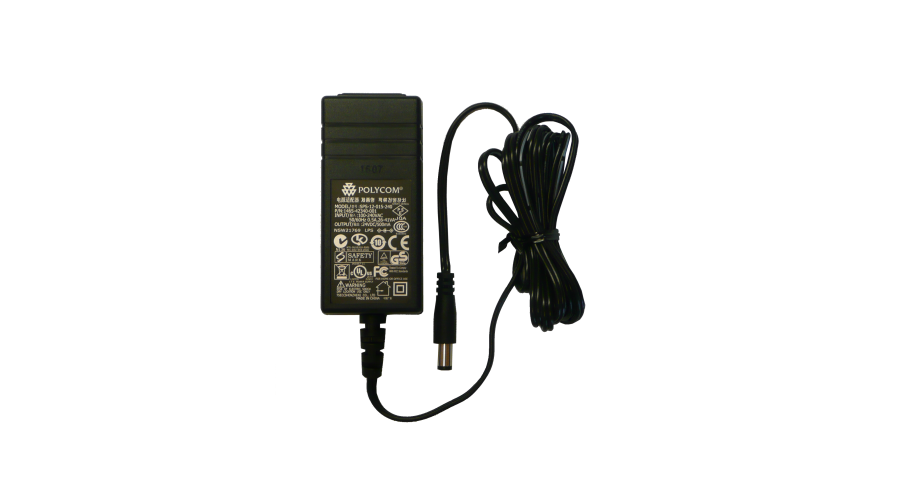 Polycom Universal Power Supply for SoundPoint IP 320, 330, 430, 550, 601 and 650. 24V, 0.5A