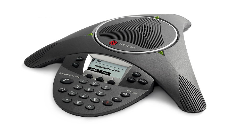 Polycom SoundStation IP 6000 Conference Phone - Does not Include Power Supply