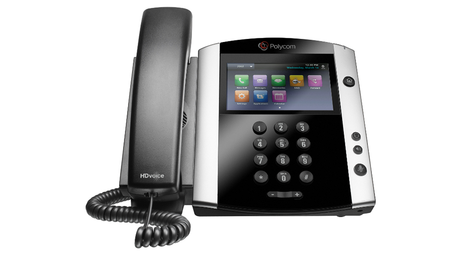 Polycom VVX 600 16-line Business Media Phone with built-in Bluetooth and HD Voice  - PoE - Open Box