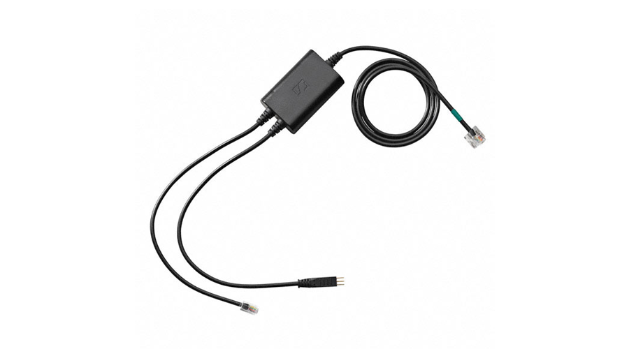 Sennheiser Polycom Adapter Cable for Electronic Hook Switch - Soundpoint IP 430 and Above (MN: CEHS-PO01)