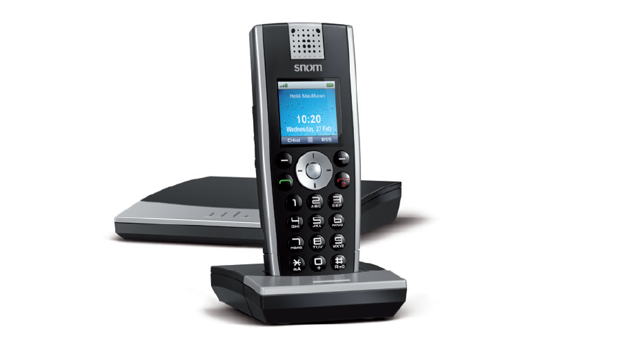 Snom m9r DECT Handheld IP Handset and Base Station - Open Box