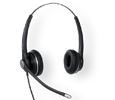 VTech A100D Wired Double-Sided Binaural Office Headset (A100D)