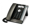 VTech ErisTerminal VSP 725 Entry-Level Deskset SIP Phone (PoE) - Includes Power Supply