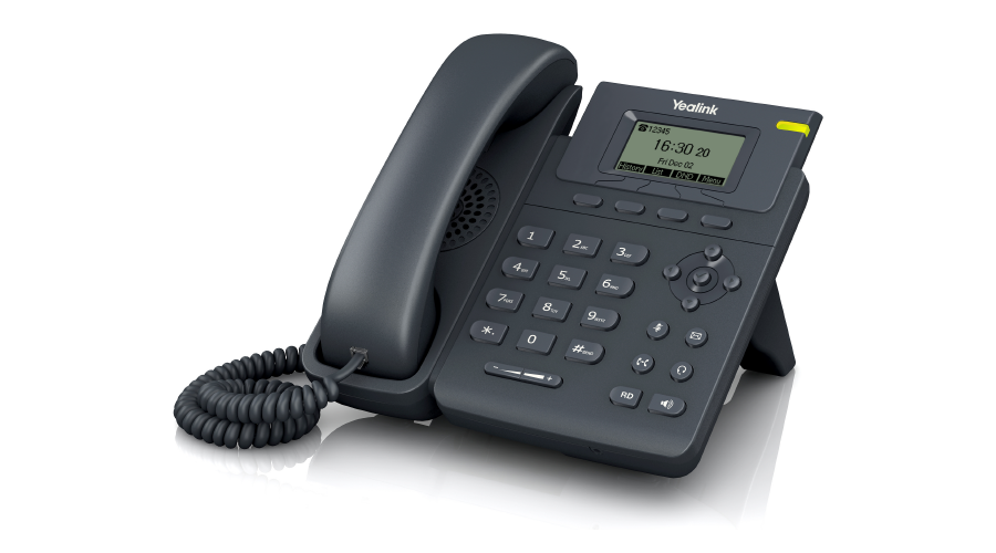 Yealink SIP-T19P - Entry Level IP Phone (with PoE) - Includes Power Supply - Open Box