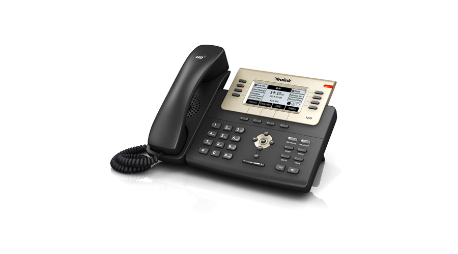 Yealink Enterprise HD IP Phone SIP-T27P - Includes Power Supply - Open Box