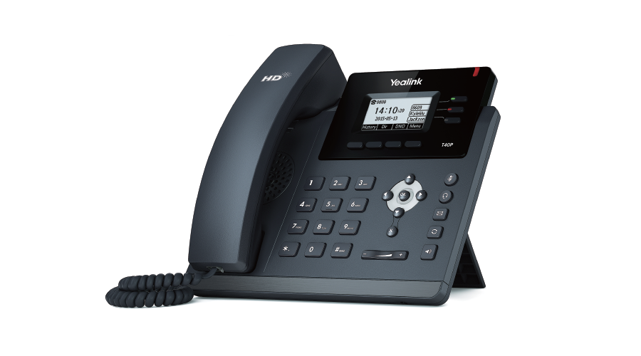 Yealink SIP-T40P IP Phone (with PoE) - Does Not Include Power Supply - Open Box