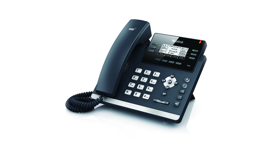 Yealink SIP-T41P IP Phone with Power Supply