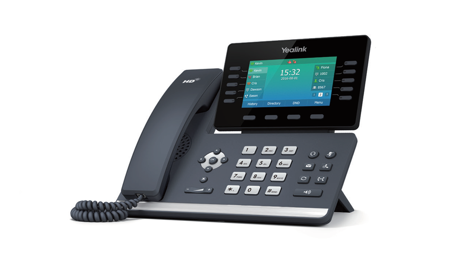 Yealink SIP-T54S Media IP Phone - Includes Power Supply