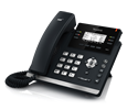 Yealink SIP-T42S - 12-Line IP Phone (PoE) and SFB License - Does Not Include Power Supply