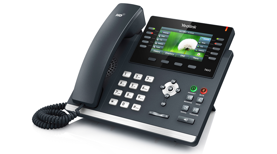 Yealink SIP-T46G IP Phone (PoE) - Open Box