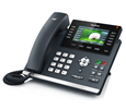 Yealink SIP-T46S IP Phone (PoE) and SFB License - Includes Power Supply