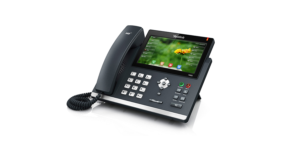 Yealink SIP-T48S 6-line IP Phone with 7 inch Color Touch Screen (PoE) - With Power Supply