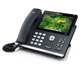 Yealink SIP-T48S 6-line IP Phone (PoE) and SFB License - Includes Power Supply