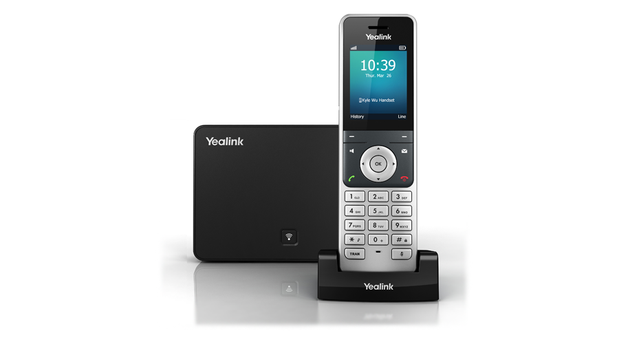Yealink W56P DECT Cordless Handset and Base Station - Open Box