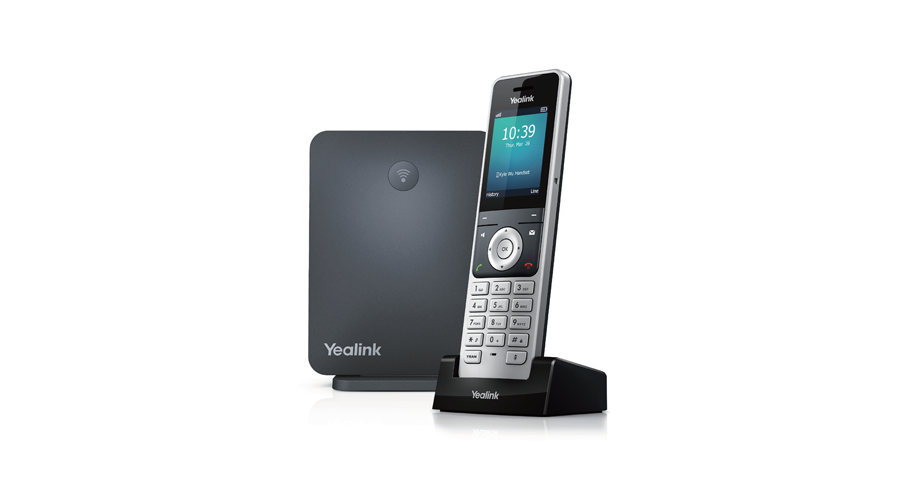 Yealink DECT IP Phone W60 Package - Includes W56H Handset and W60B Base Station